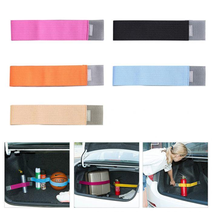 5 bandas elásticas organización maletero 20 x 5 cm