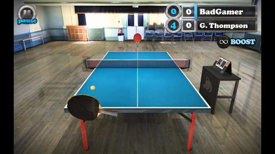 Table Tennis Touch, para los amantes del tenis de mesa (IOS, Android)