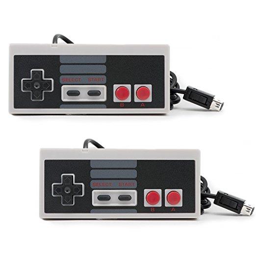 3x mandos SNES + 2x Mandos NES Mini