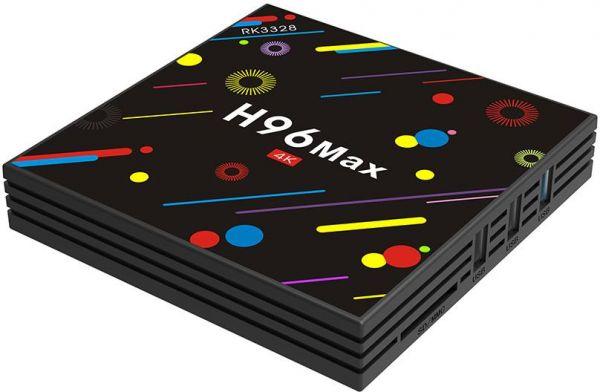 TV Box H96 Max 4GB - 32GB solo 39.9€