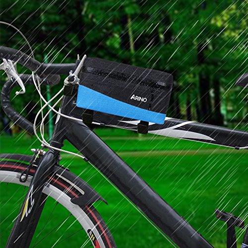bicicleta marco bolsa de bicicleta bolso tubo superior