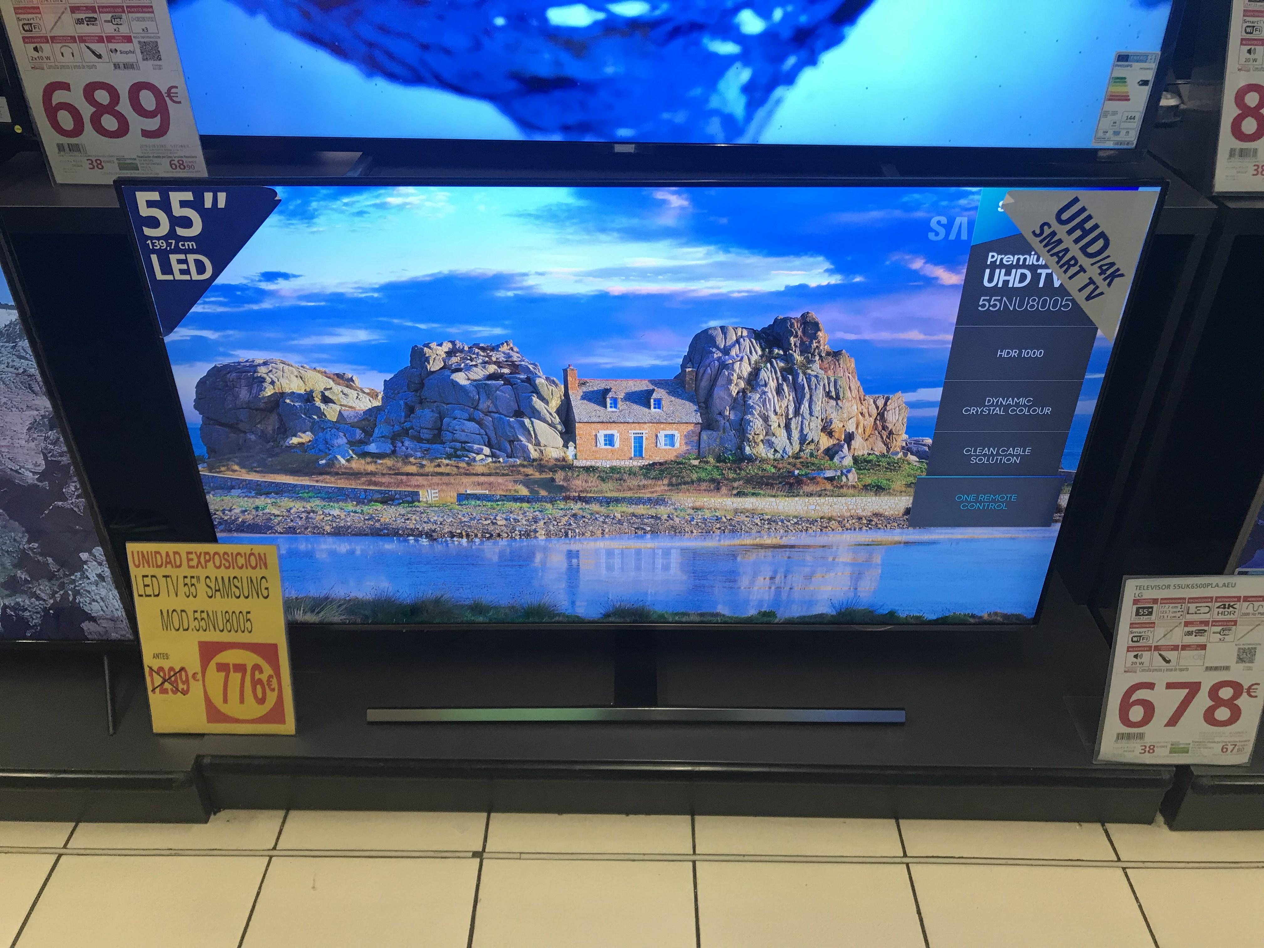 """Tv Led Samsung 55"""" 4K - Leganés, Alcampo Parquesur"""