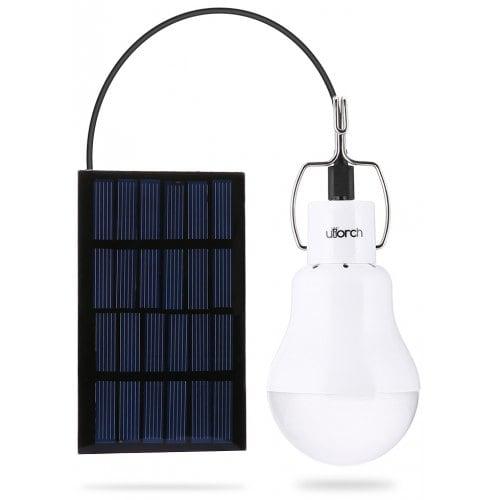 Lámpara de energía solar Utorch 130lm bombilla LED