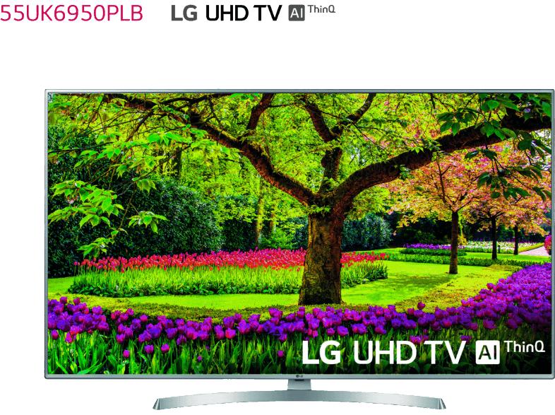"TV LED 55"" - LG 55UK6950PLB, UHD 4K 3xHDR"