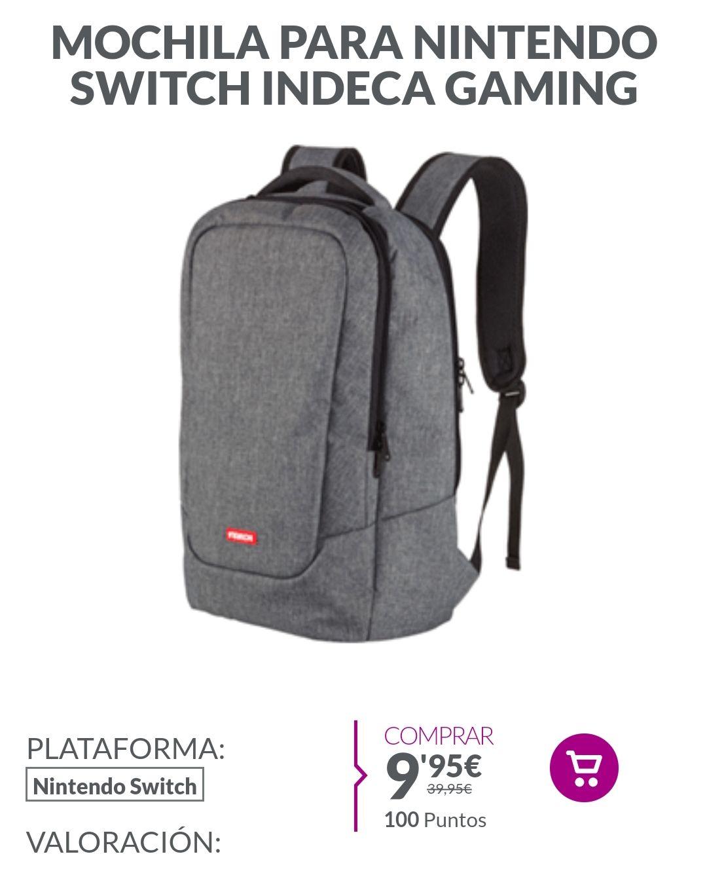 Mochila para Nintendo switch