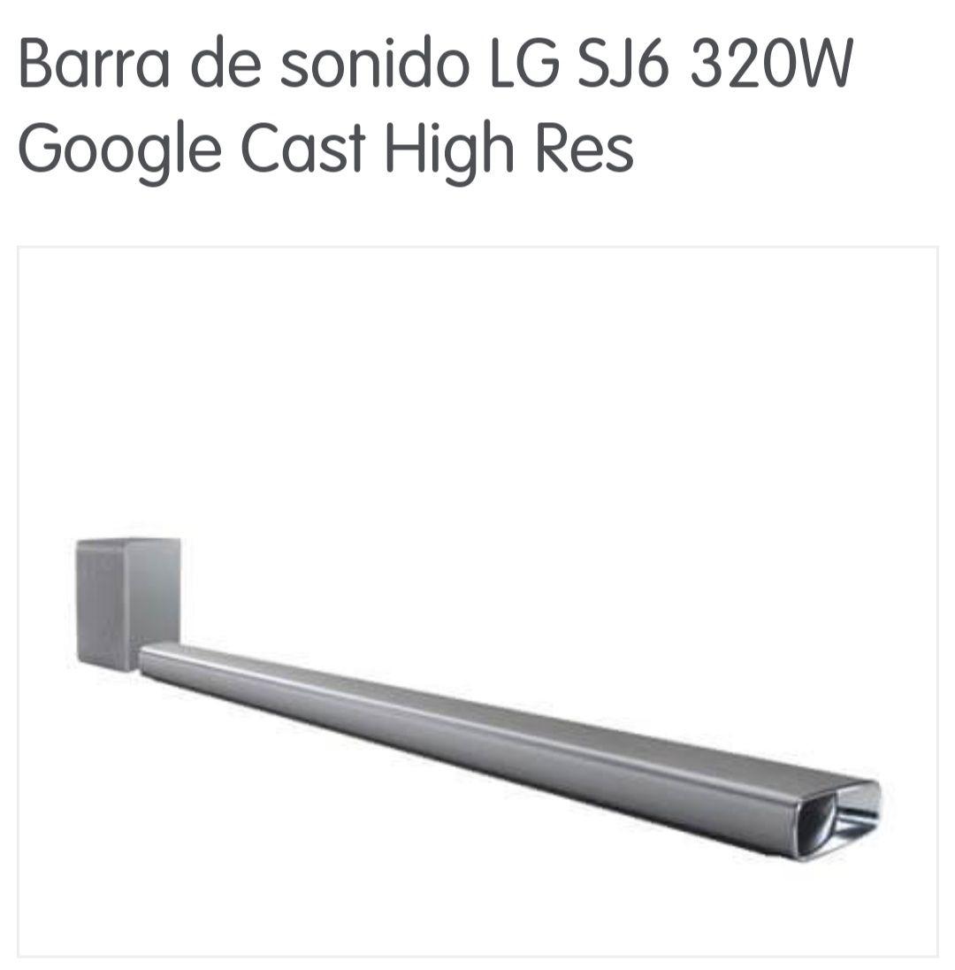 Barra de sonido LG SJ6