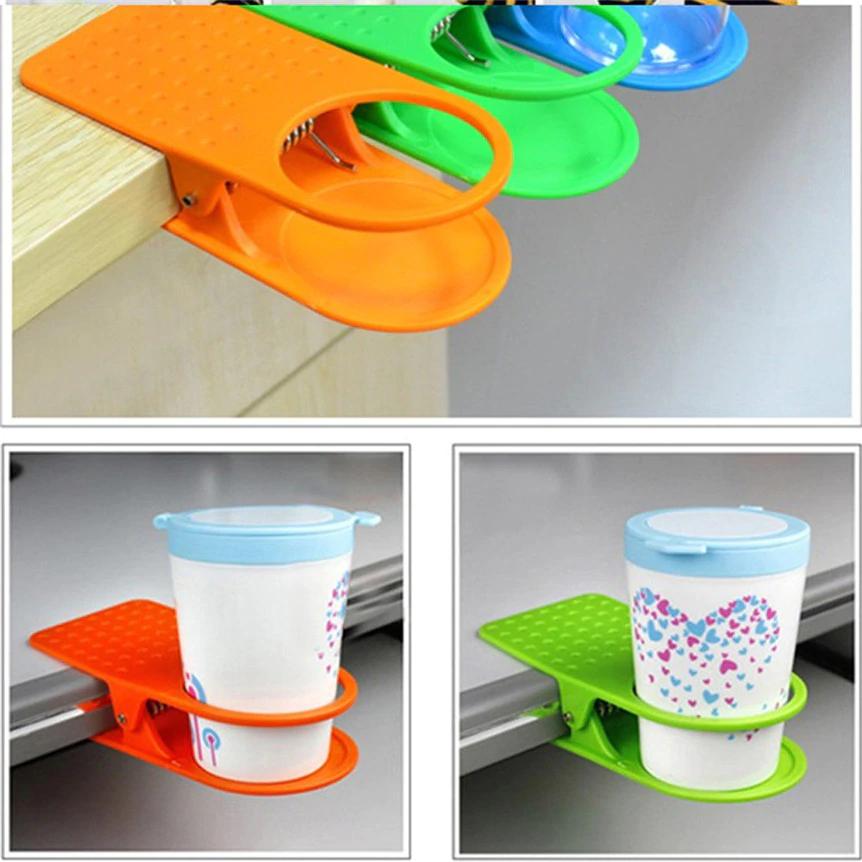Soporte clip de mesa para vaso/taza