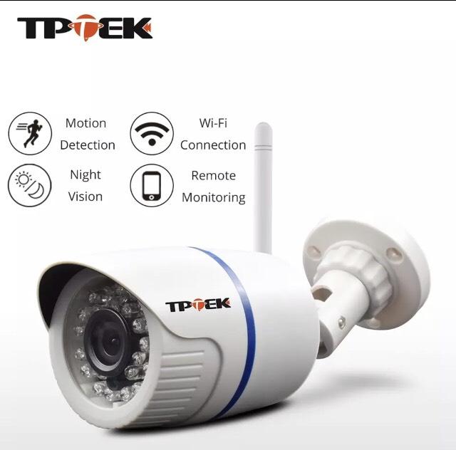 Camara de vigilancia wifi exteriores