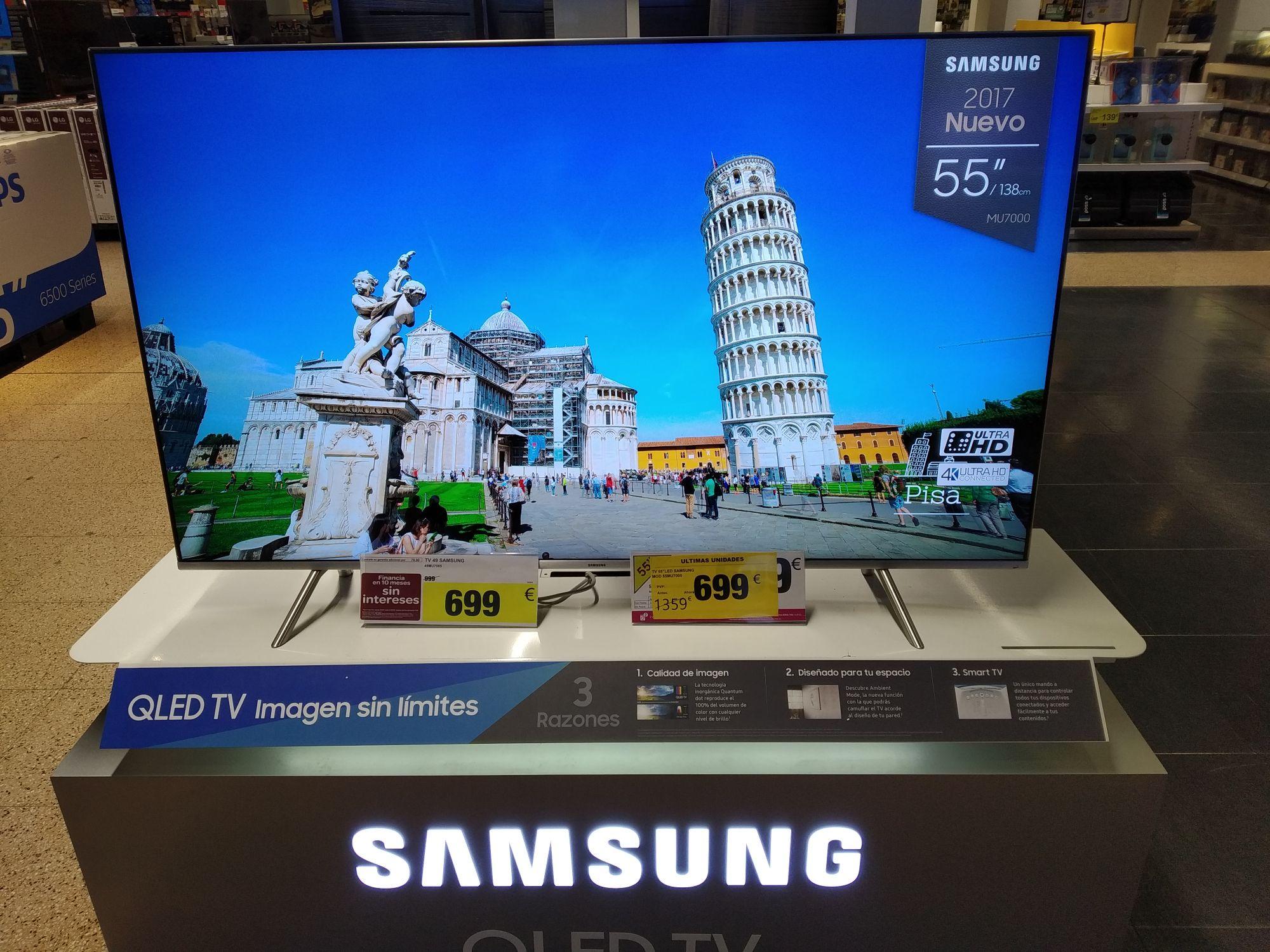 TV Samsung LED 55' Carrefour Montigalà