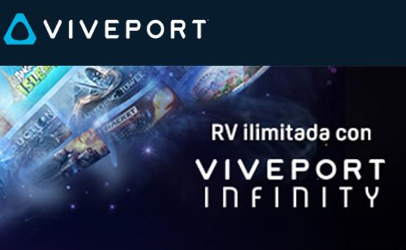 HTC VIVE: VIVEPORT INFINITY - 1 MES DE INFINITY GRATIS (+ de 600 juegos) por responder tres preguntas