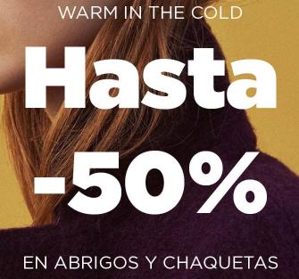 MANGO OUTLET: HASTA 50% DTO. EN ABRIGOS Y CHAQUETAS.