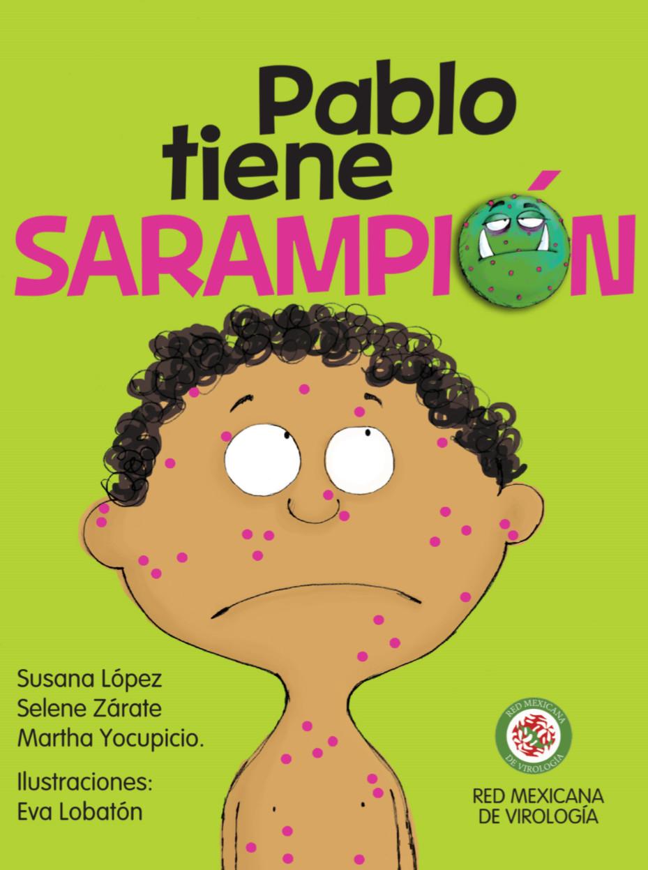 """Libro educativo en PDF """"Pablo tiene Sarampión"""" (GRATIS)"""