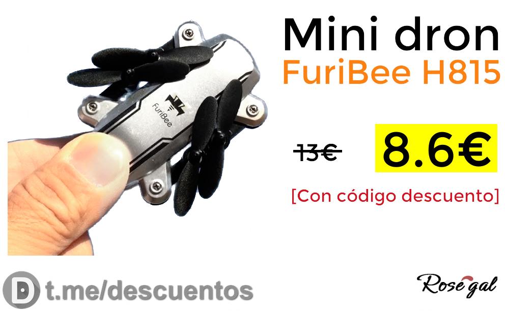 Minidron Furibee H815 solo 8.6€