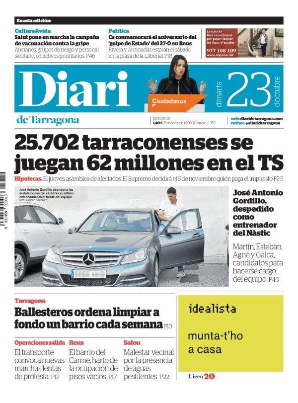 Suscripción gratuita 1 mes al periódico por donar sangre en Tarragona