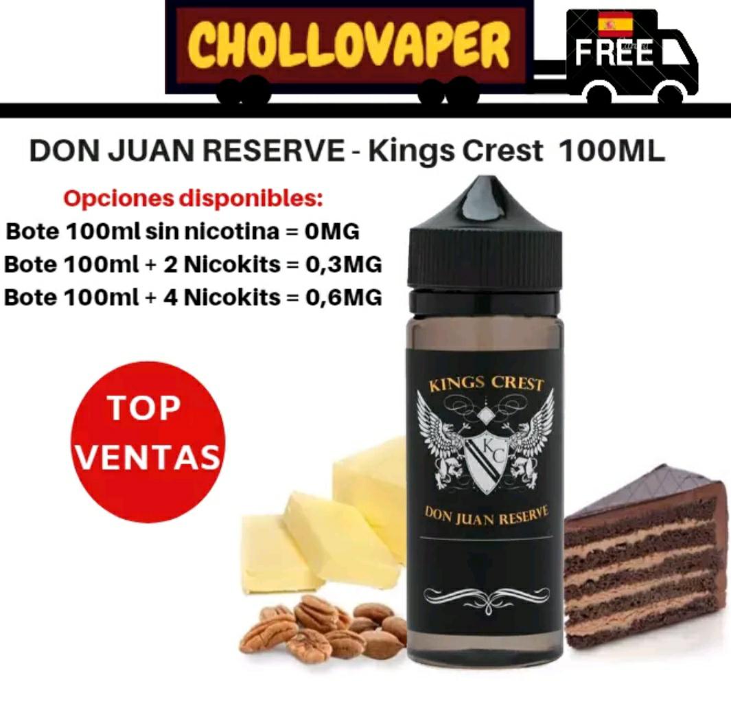 Don Juan Reserva 100ml para Vaper