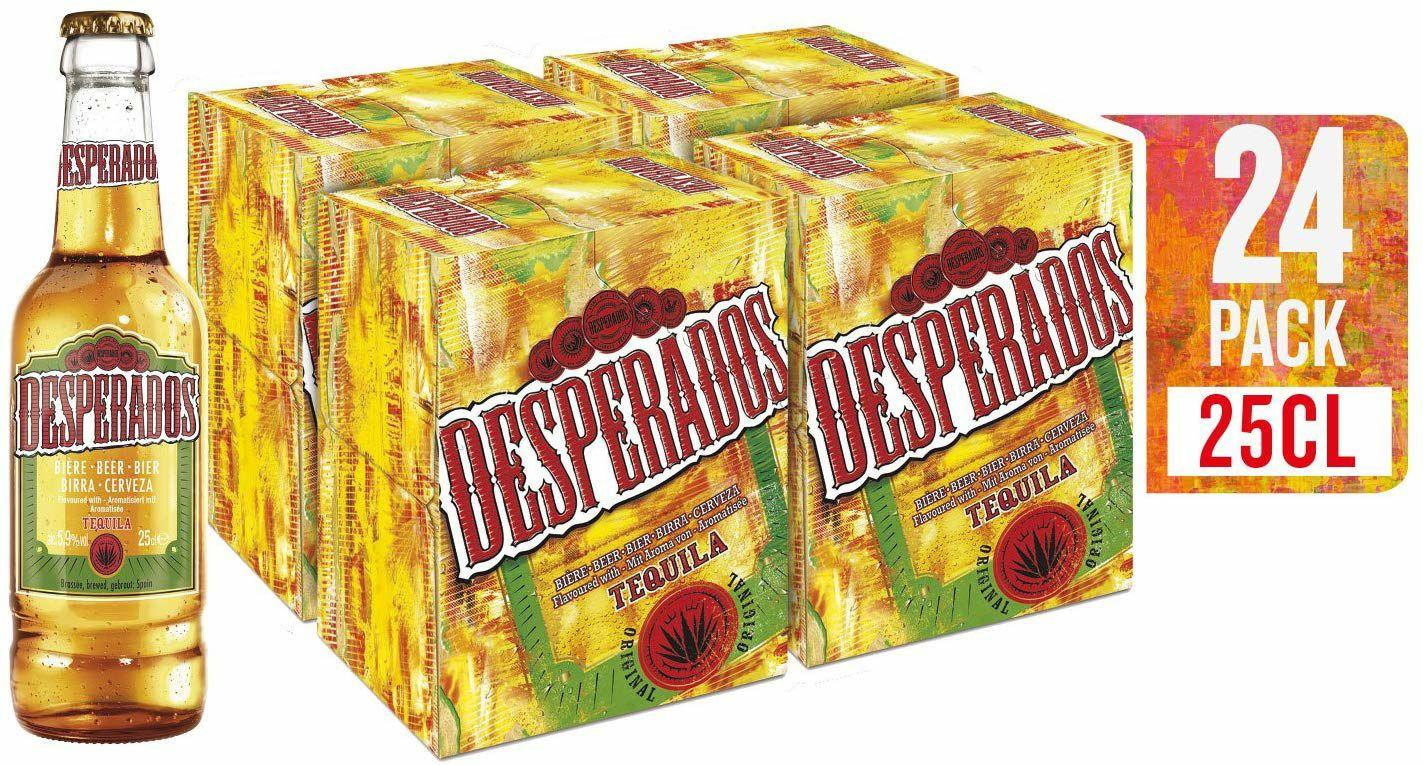 Pack 24 quintos cerveza Desperados
