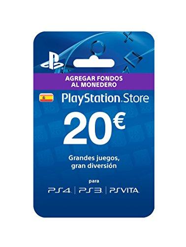 Sony - Tarjeta Prepago 20€ (Código Digital) PlayStation Store