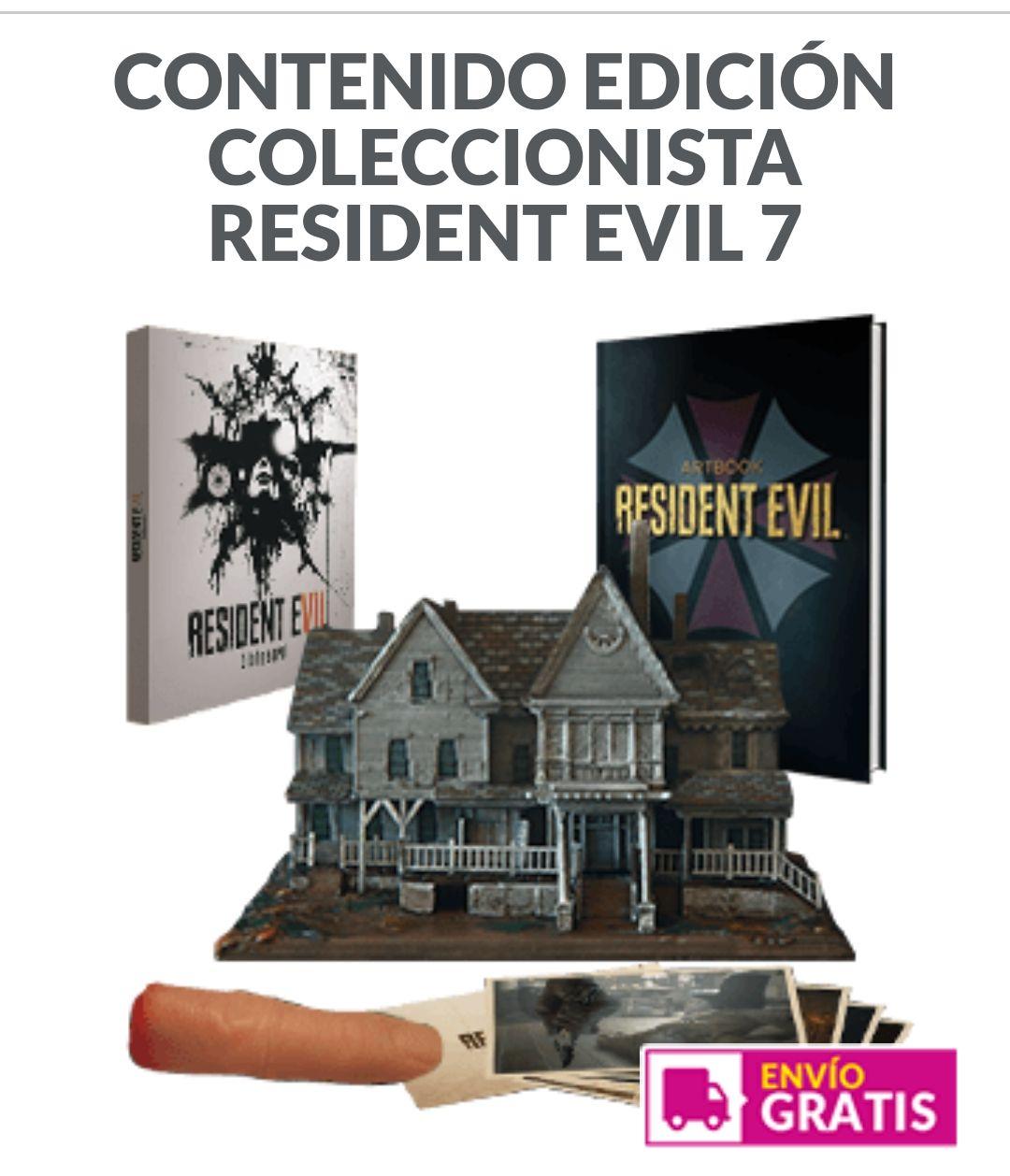 EDICIÓN COLECCIONISTA RESIDENT EVIL 7