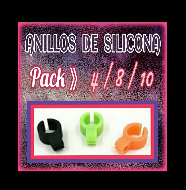 PACK DE ANILLOS DE SILICONA (FUMADORES)