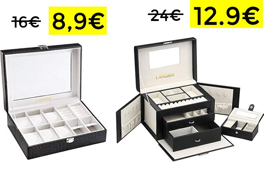 9e250d81de0f Caja para relojes y joyero a mitad de precio - chollometro.com
