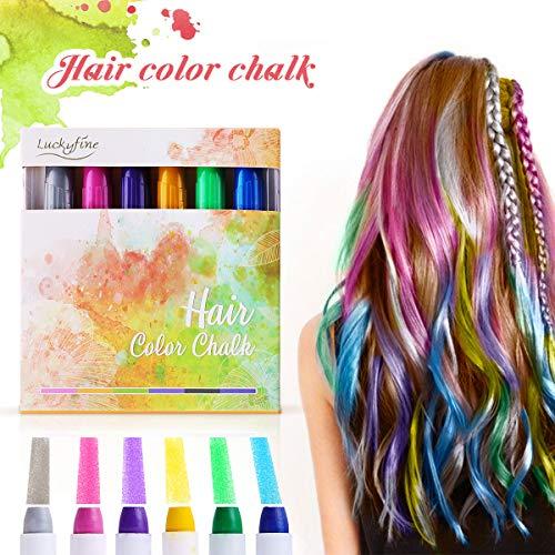 Tiza para colorear el pelo ( 6 Colores )