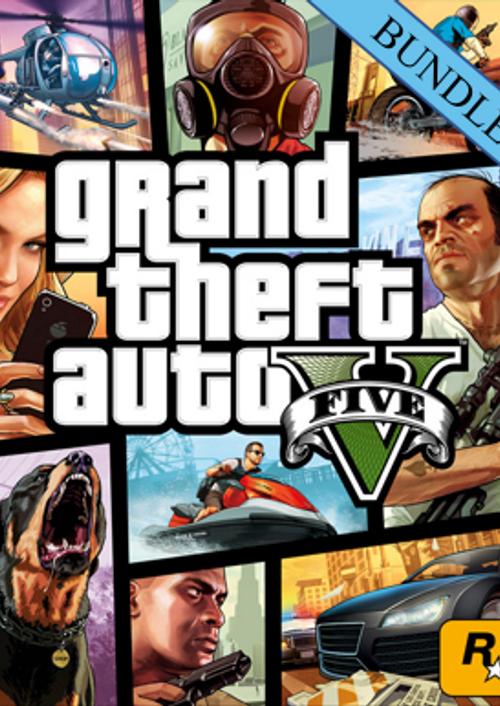 Lote Grand Theft Auto V: Premium Online Edition y tarjeta Gran tiburón blanco (1 250 000 GTA$)