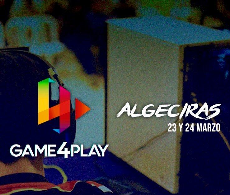 Festival videojuegos GAME4PLAY Entrada GRATUITA Algeciras Cádiz
