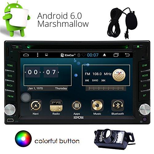 Eincar Android 6.0 Radio de Coche estéreo 2 Unidad Principal DIN