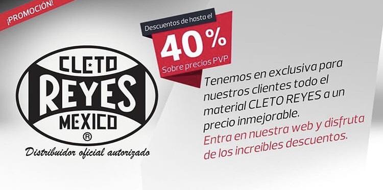 40% descuento en guantes Cleto Reyes