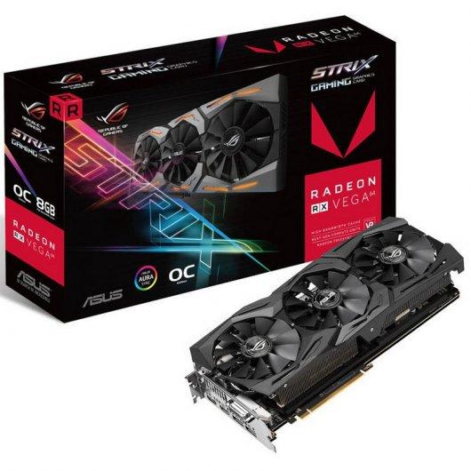 Asus RX Vega 64 ROG STRIX 8GB + 3 juegos