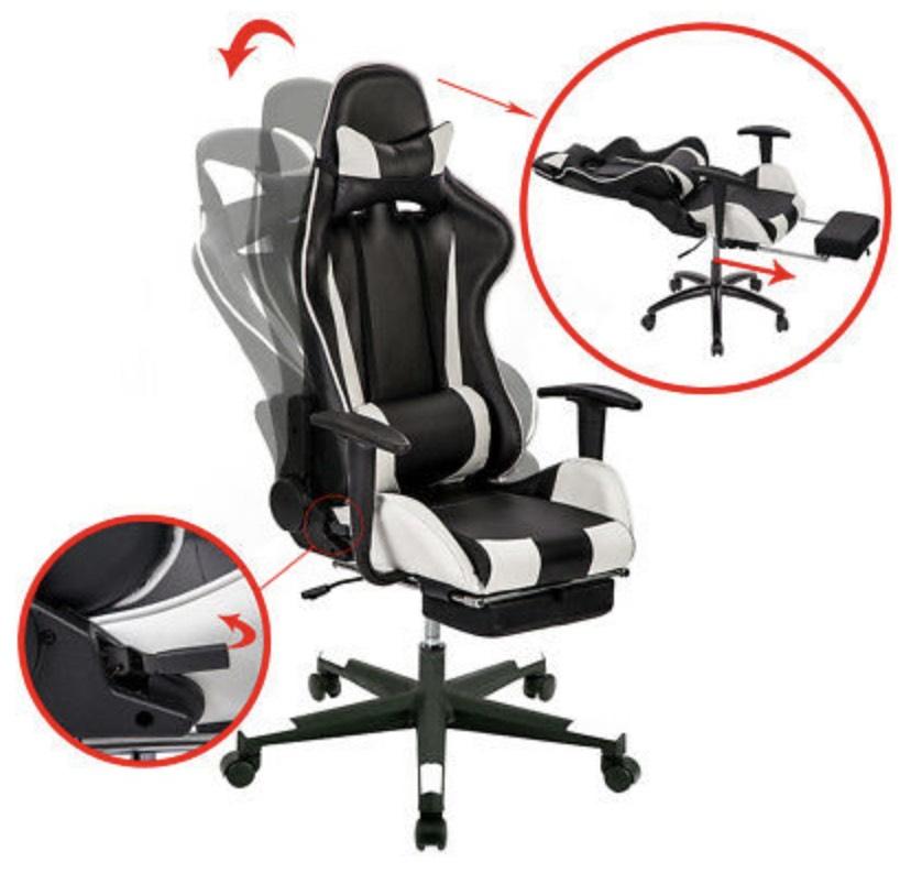 Silla Gaming Oficina Racing Sillon gamer Despacho Profesional Videojuegos PC nue
