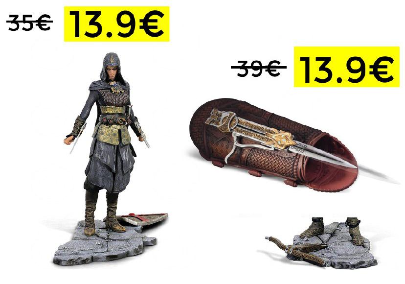 Figuras Assassins Creed solo 13.9€