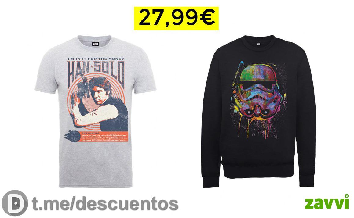 Star Wars Sudadera   Camiseta solo 27.9€