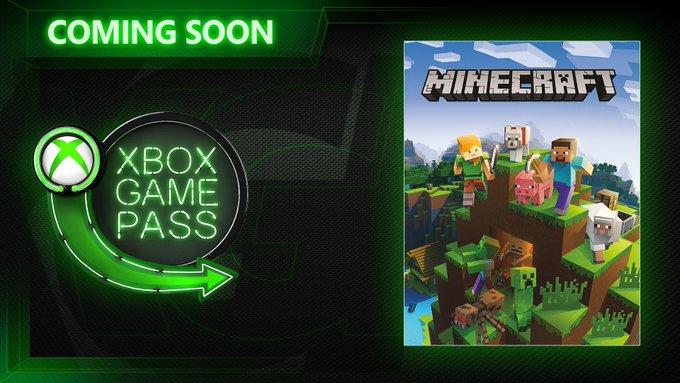 Gratis Minecraft y otros  (Xbox Game Pass Abril)