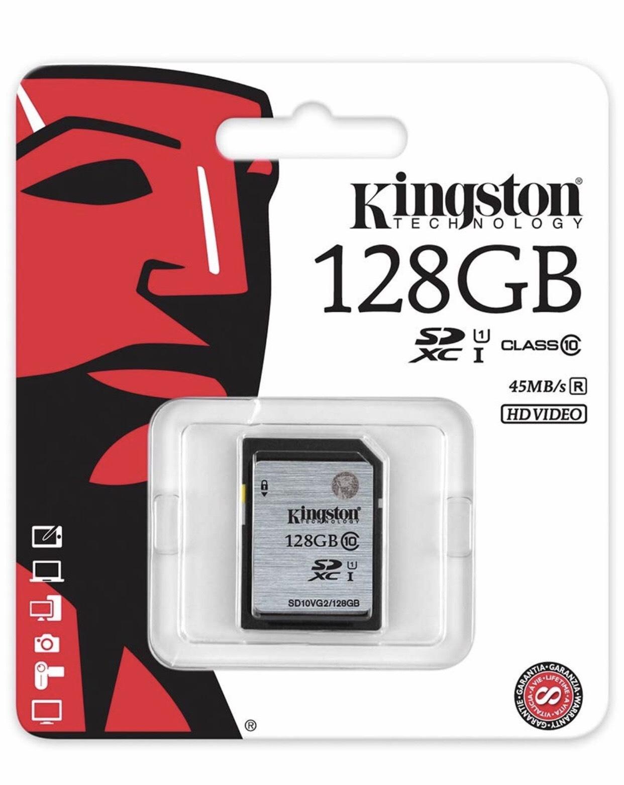 Tarjeta de memoria Kingston -72%
