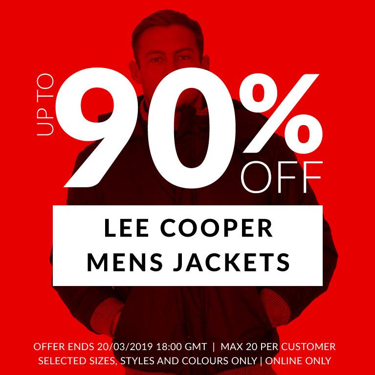 Hasta el 90% de descuento chaquetas Lee Cooper