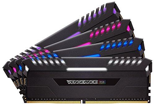 Memoria RAM Corsair Vengeance RGB 32 GB (4 x 8 GB, DDR4, 3000 MHz)