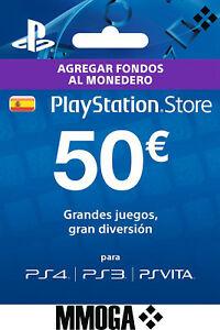 50€ Tarjeta Prepago PlayStation Network PSN
