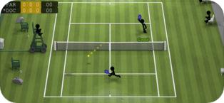 iOS: Stickman Tennis (Gratis)