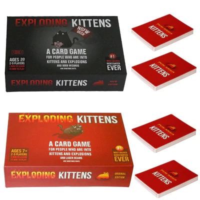 Vuelven los exploding kittens