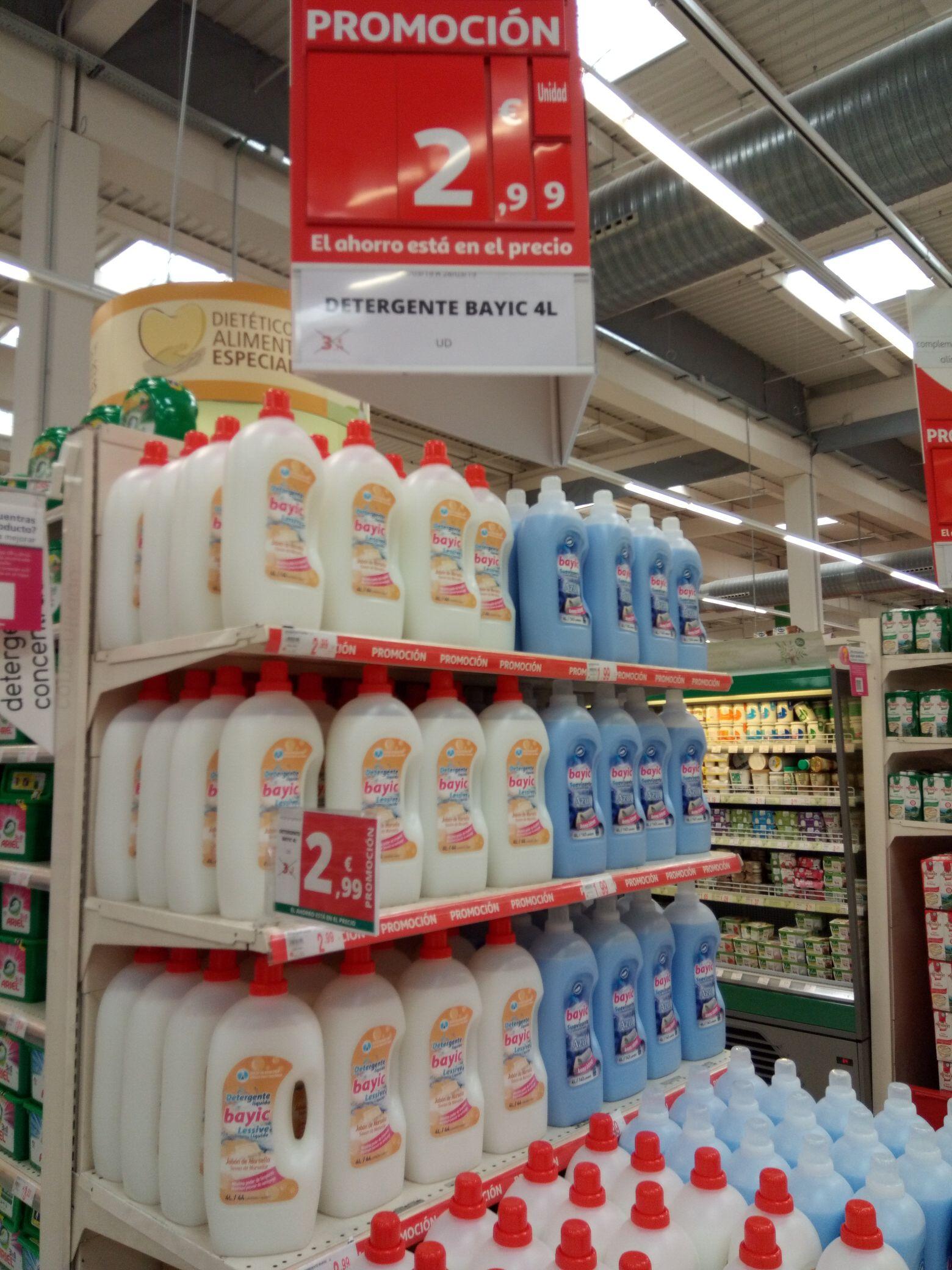 4Litros de Detergente a 2,99