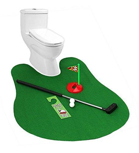 Set de mini golf para baño