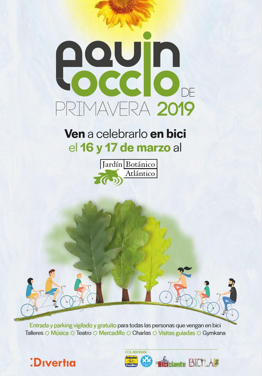 BOTÁNICO DE GIJÓN: Entrada gratis los días 16 y 17 de marzo para todo el que acuda en bicicleta