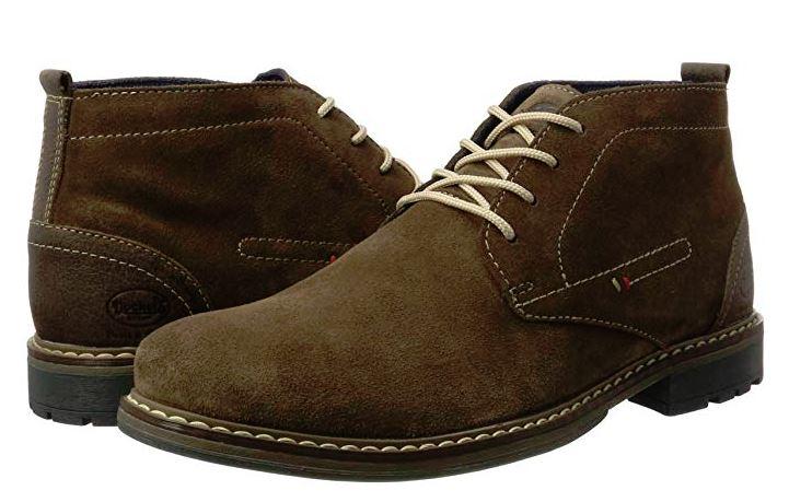 Botas  Dockers, sirven para primavera porque la bota altera.