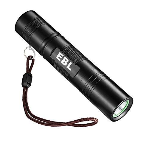 2 X EBL 004 Linterna LED de Mano Resistente al Agua