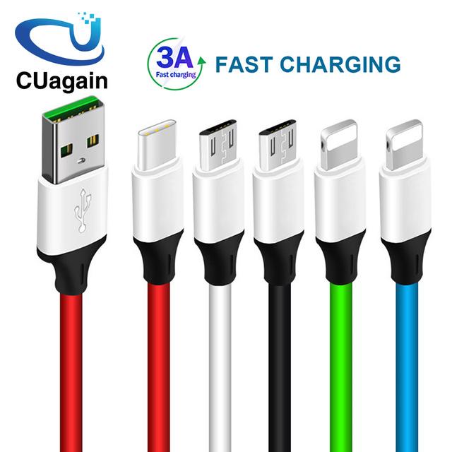 Cable USB varios tipos y colores
