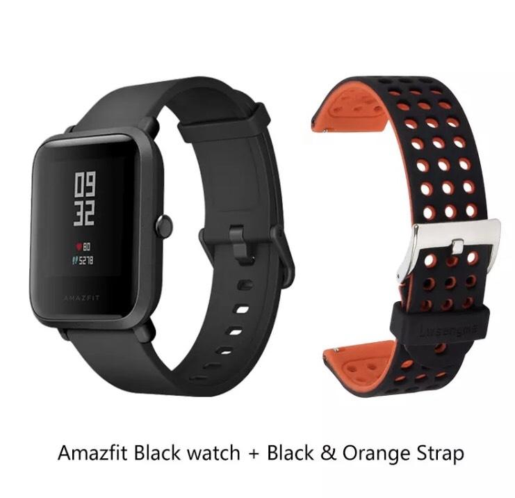 Amazfit Bip + Recambio naranja o negro desde España por 43€