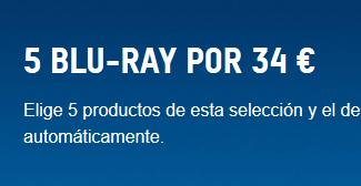 ZAVVI: 5 BLU-RAY POR 34€ (Selección)