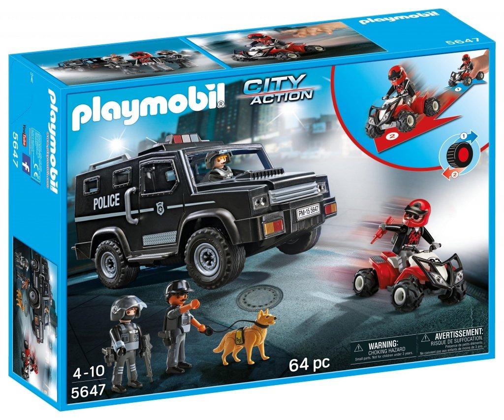 Set Playmobil Fuerzas especiales solo 15€