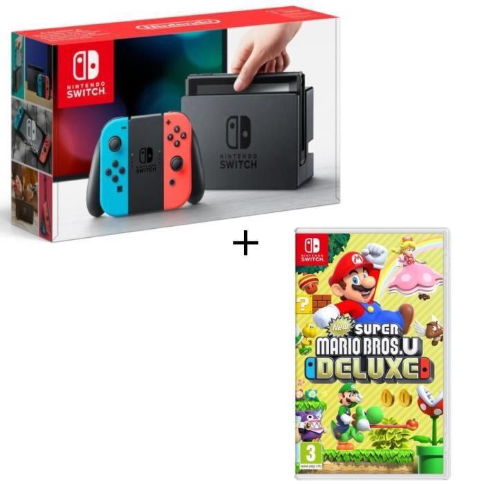 Nintendo Switch + New Super Mario